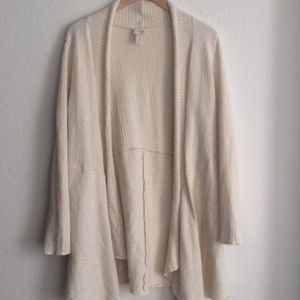 Chico's Long Open Cardigan